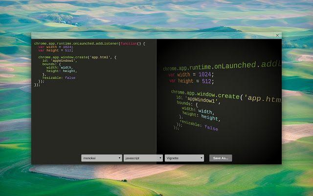 Schicke Code-Präsentationen sind möglich