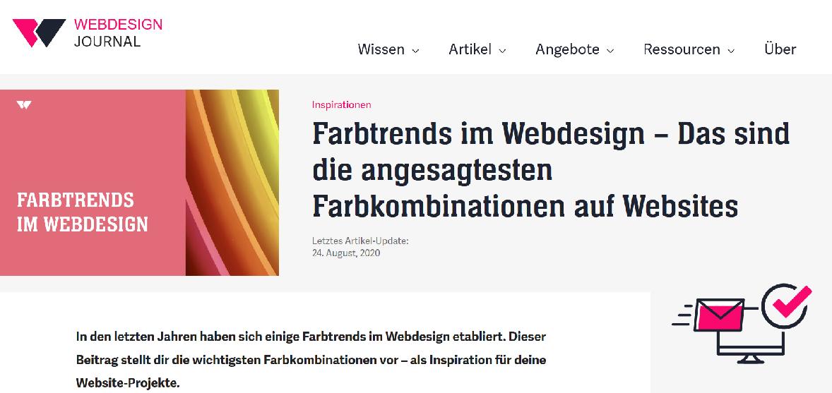 Screenshot webdesign-journal.de