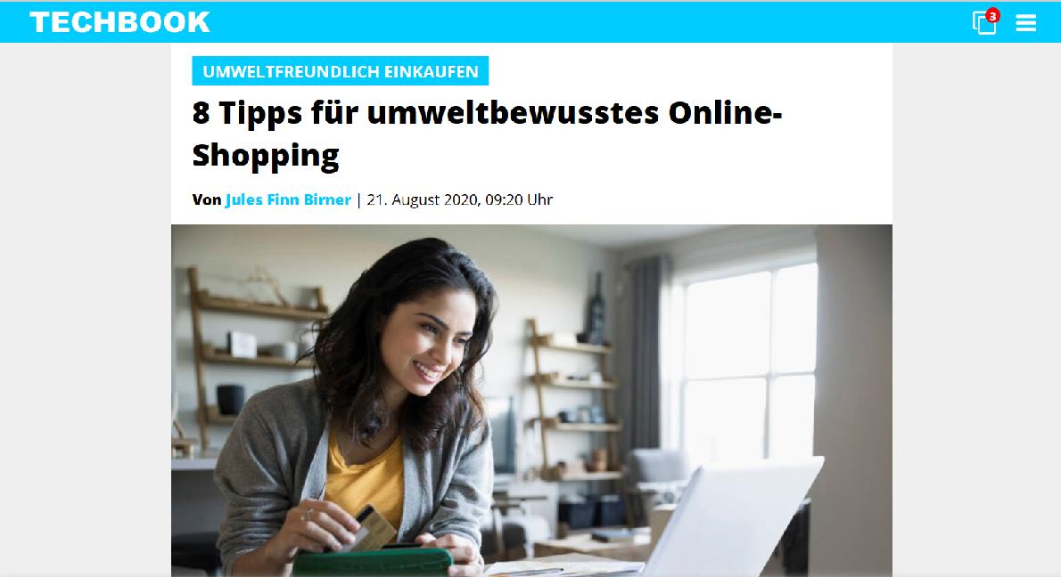 Screenshot techbook.de