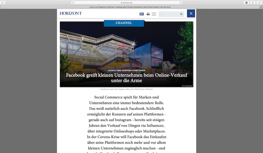 Facebook will es mit Facebook Shops kleinen Unternehmen einfach machen, ihre Produkte online zu verkaufen.