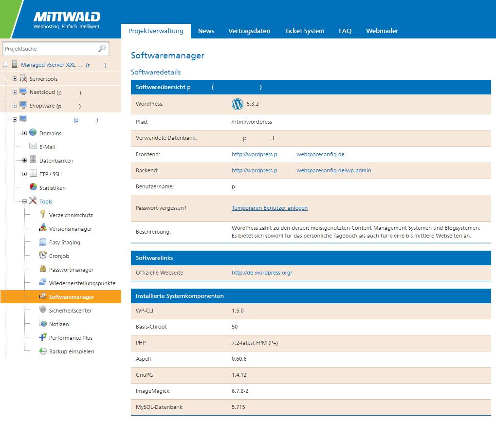 Softwaremanager Details