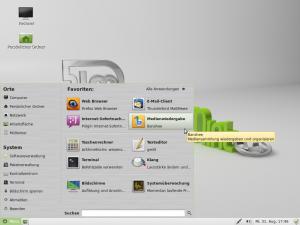 Standard-Software unter Linux Mint