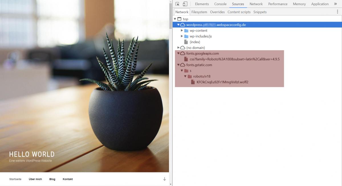 Developer Tools Chrome und Firefox