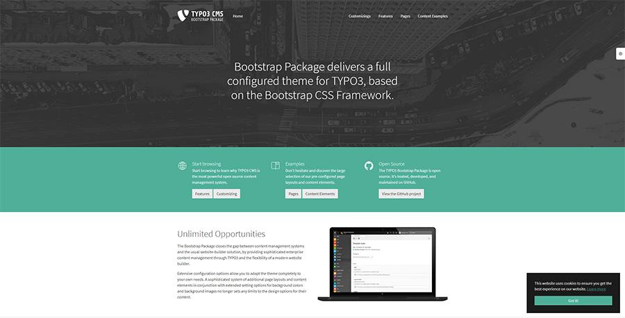 Mit dem Bootstrap Package kannst du dein eigenes Sitepackage für TYPO3 erstellen – Philipp von Mittwald erklärt dir, wie es geht.