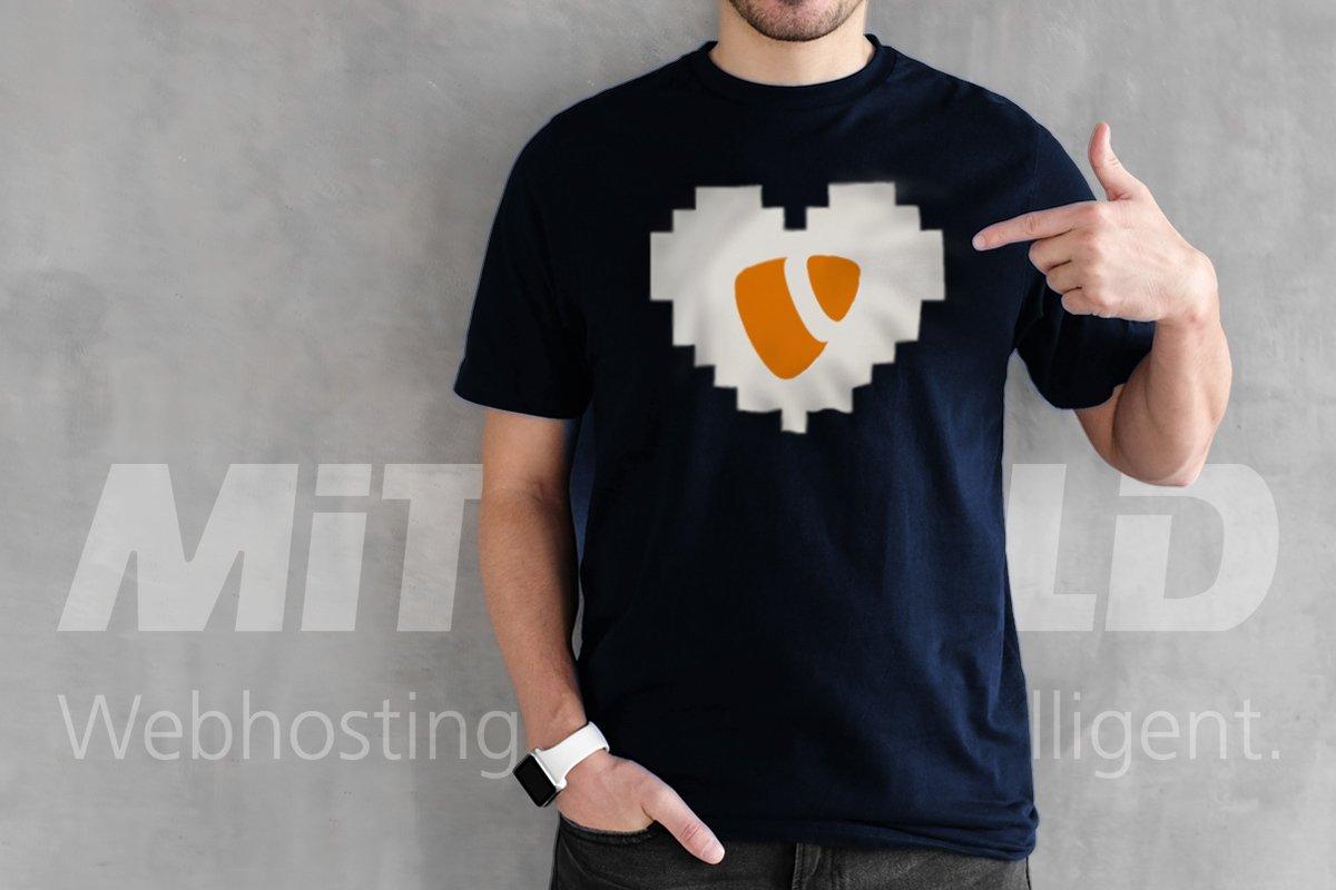 Mittwald verlost 10 Shirts zum TYPO3 v10 LTS Release