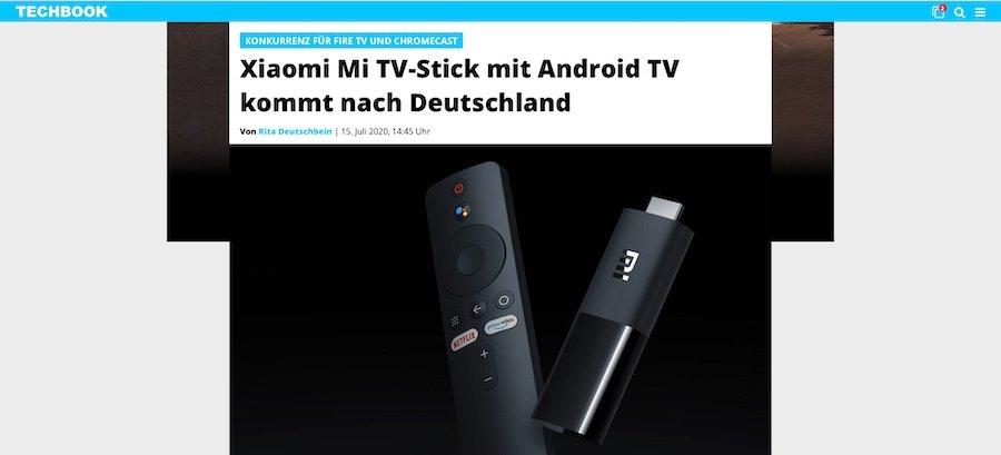 Xiaomi Mi TV-Stick in Deutschland erhältlich.