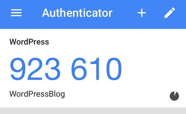 Authenticator QR-Code