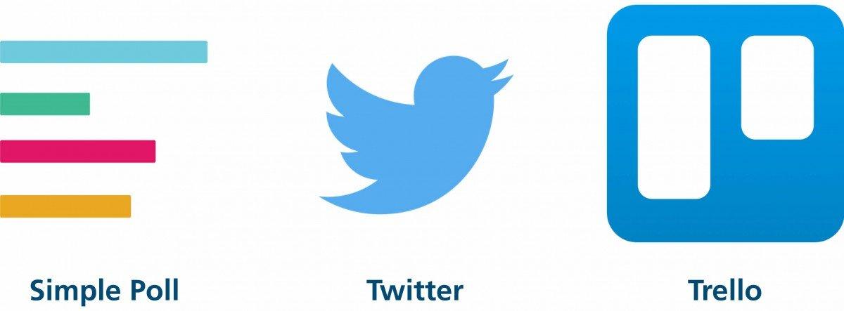 Weitere Applikationen wie Twitter und Co. sind möglich.