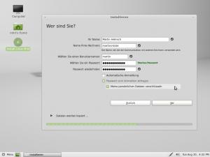 linux festplattenspeicher identität