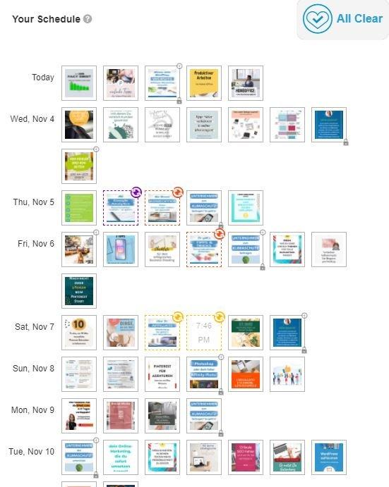 Der Smart Schedule von Tailwind für das einfache Planen von Beiträgen