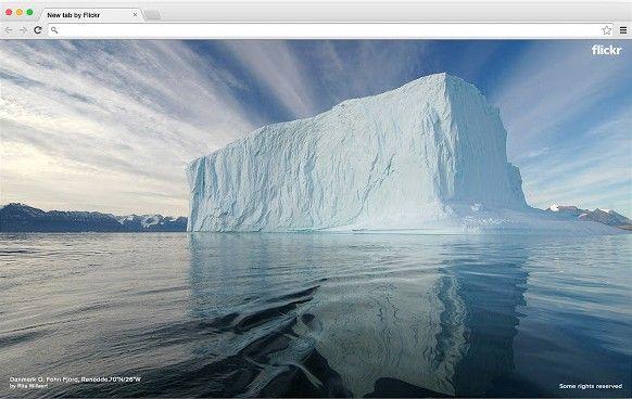 Unterschrift: Bilder aus der Flickr-Community verschönern jeden neuen Tab