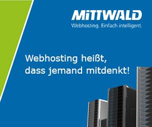 Mittwald Webhosting und Server-Support