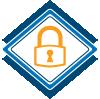 Schloss Sicherheit SSL-Zertifikat