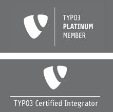 TYPO3 Platinum Partner und TYPO3 Certified Integrator