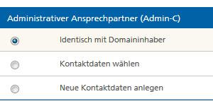 Domain sichern