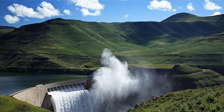 Naturstrom Wasserkraftwerk