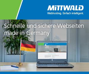 Webhosting von Mittwald
