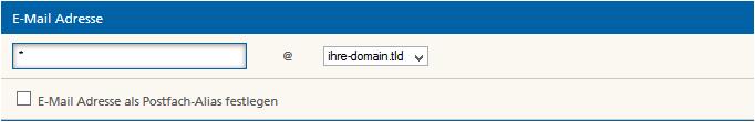 Mittwald Kundencenter E-Mail Adresse anlegen