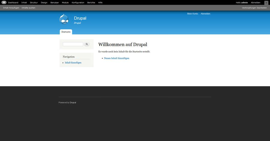 Verbreitung von Drupal